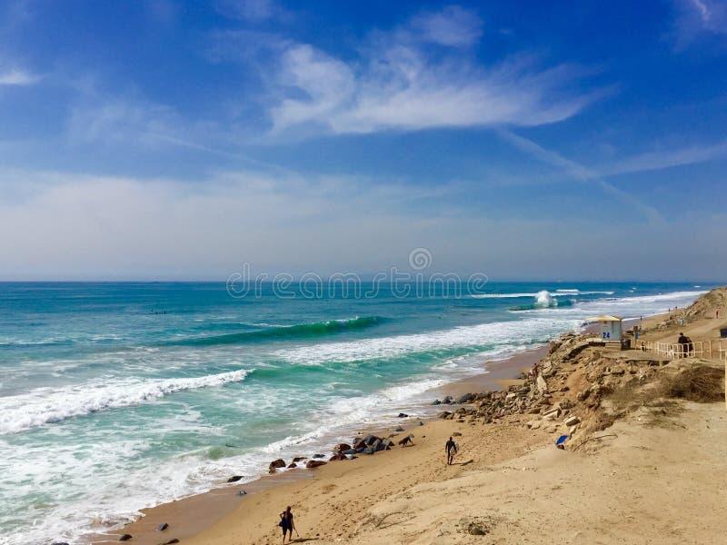 Пляжи южной Калифорнии стоковые фото