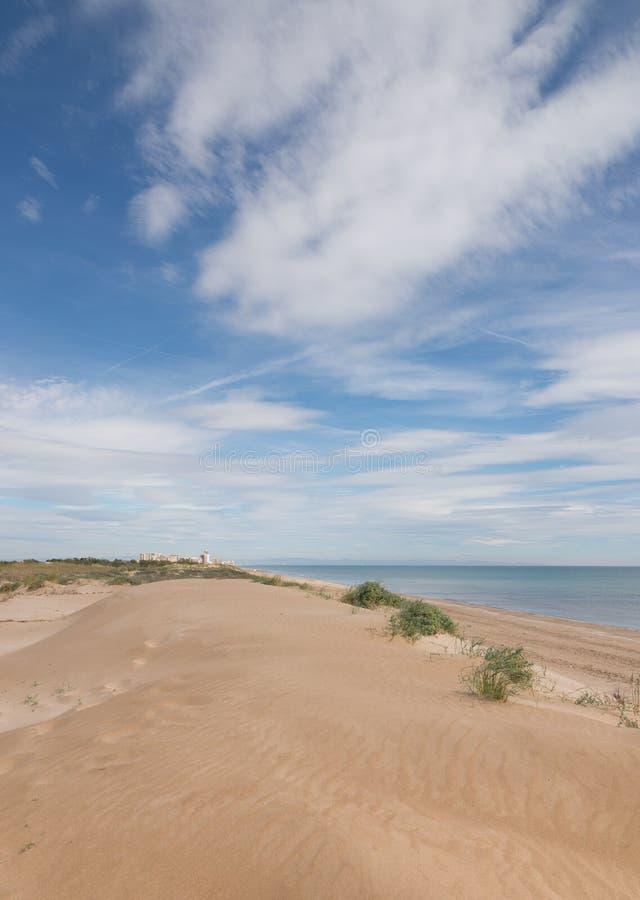 Пляжи Albufera стоковые изображения