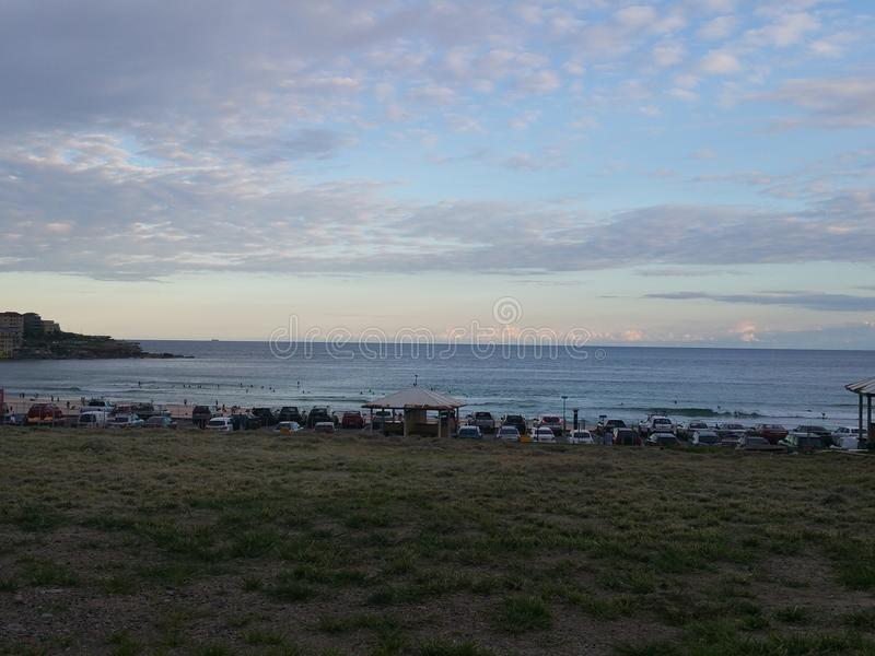 Пляж Австралия Сиднея Bondi стоковые изображения