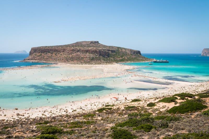 Пляж лагуны стоковое изображение rf