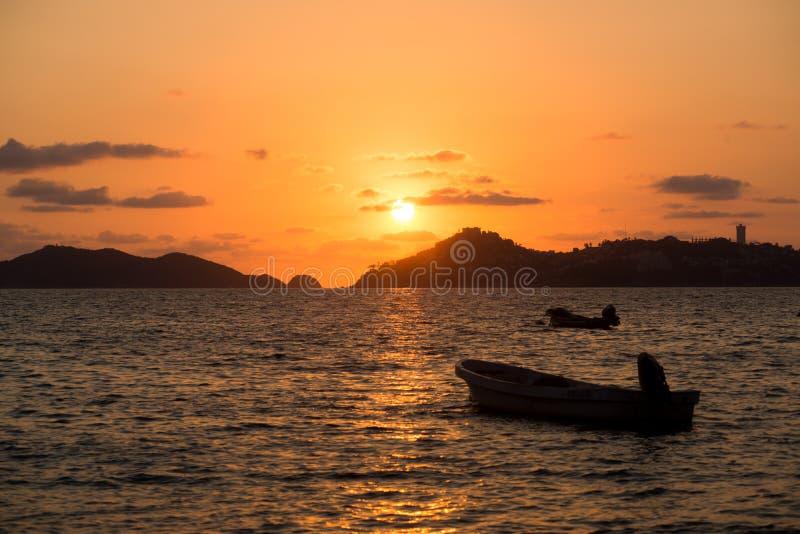Пляж Акапулько стоковое изображение rf