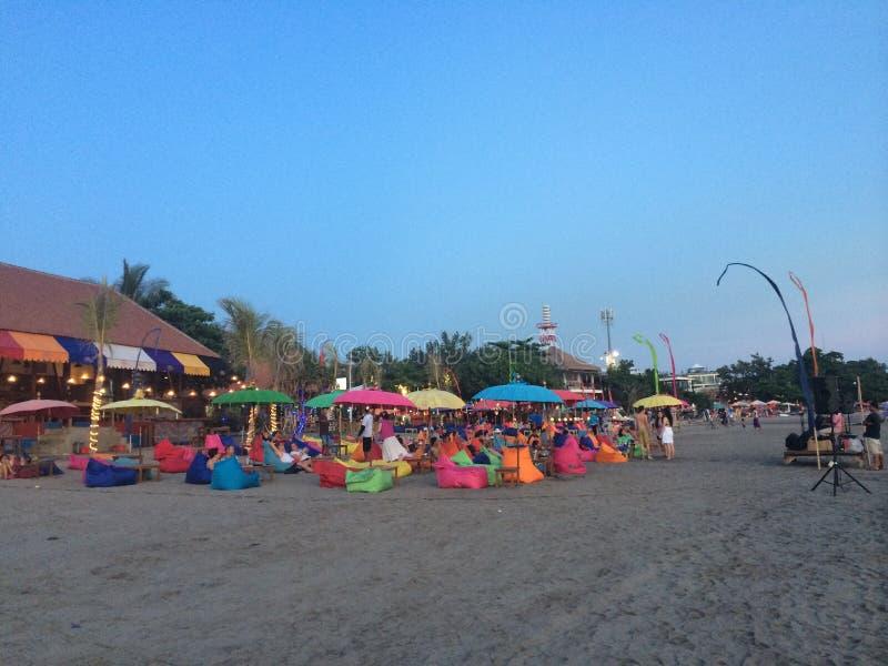 Пляж Бали стоковые изображения