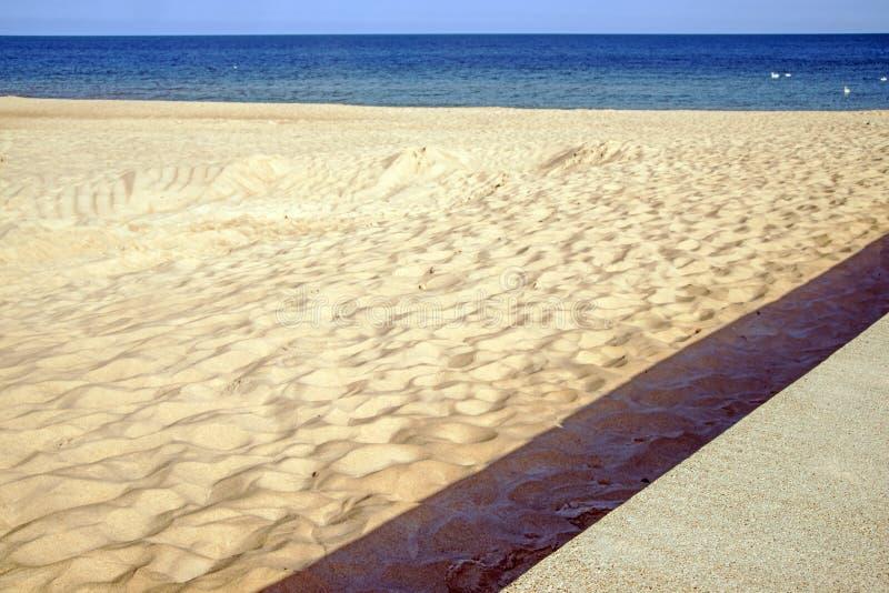 Пляж Балтийского моря стоковое изображение rf