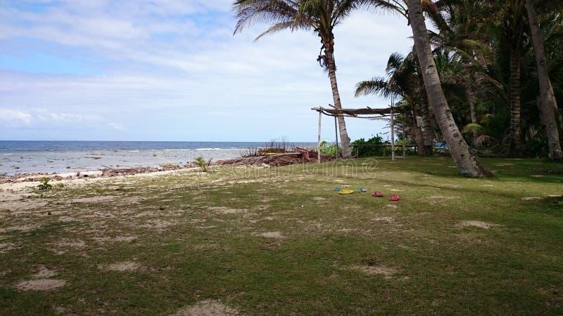 Пляж бирки-ulo стоковая фотография rf