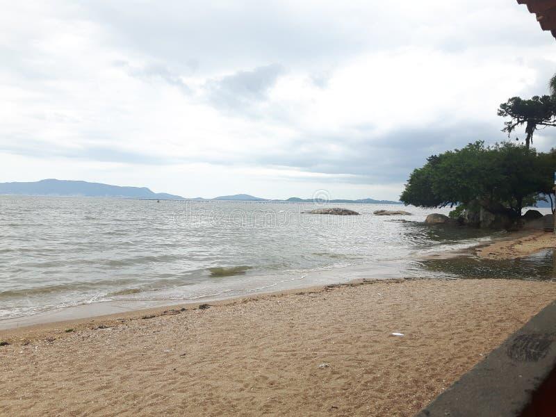 Пляж Бразилия стоковая фотография rf