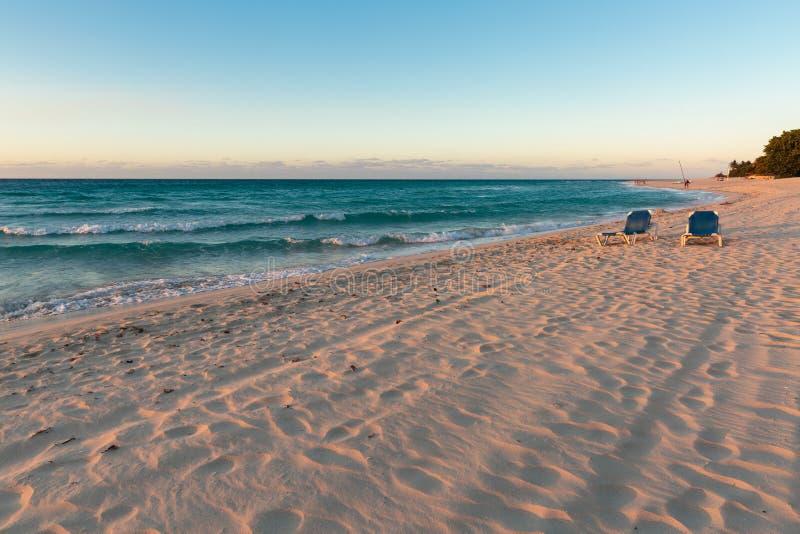Пляж Варадеро стоковое фото