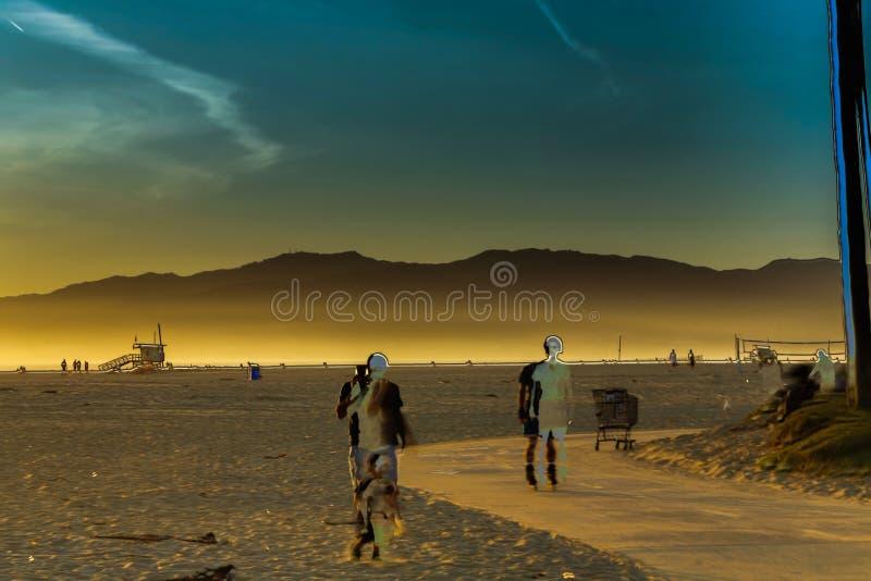Пляж Венеции стоковые фото