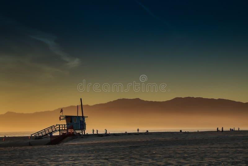 Пляж Венеции стоковое фото rf