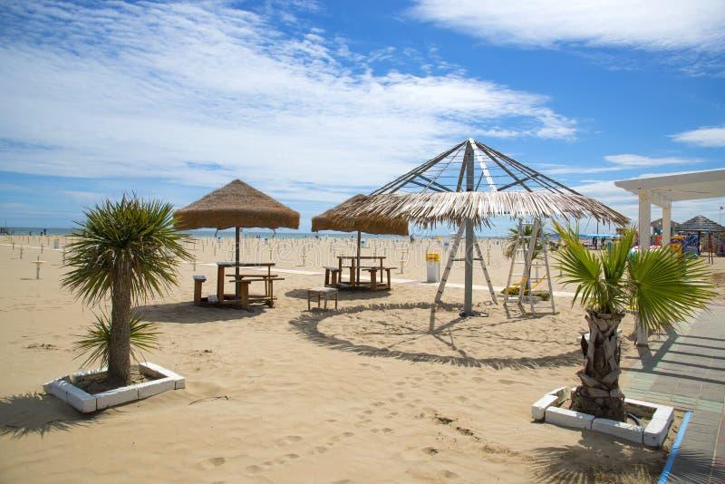 Download Пляж в Римини, Италии стоковое изображение. изображение насчитывающей италия - 41653225