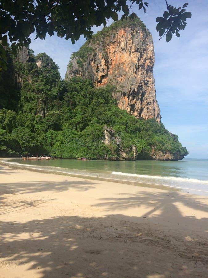 Пляж влюбленности стоковая фотография