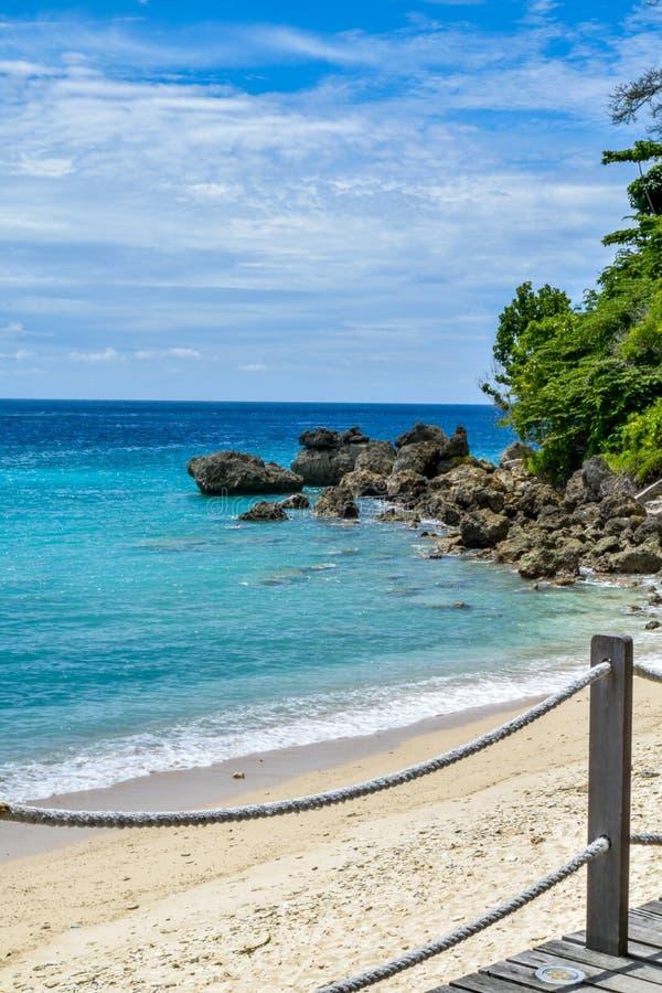 Пляж в Sabang стоковая фотография rf