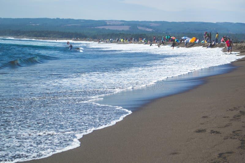 Download пляж Гавайские островы вулканические Редакционное Фотография - изображение: 92418522