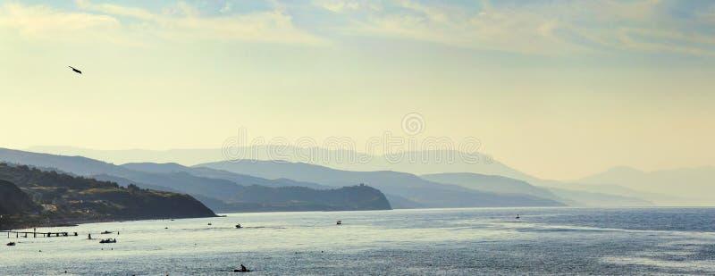 Пляж горы стоковые фотографии rf