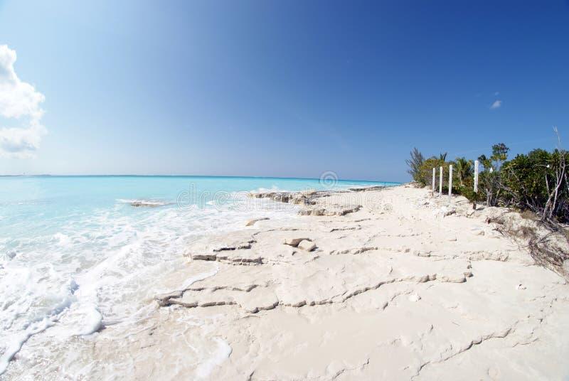 Пляж 5 залива Грейса стоковое фото rf