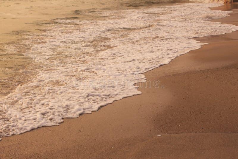 Пляж и море в ландшафте стоковые фото