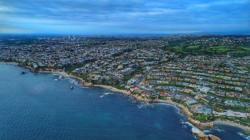 Пляж Калифорния Ньюпорта стоковое изображение rf
