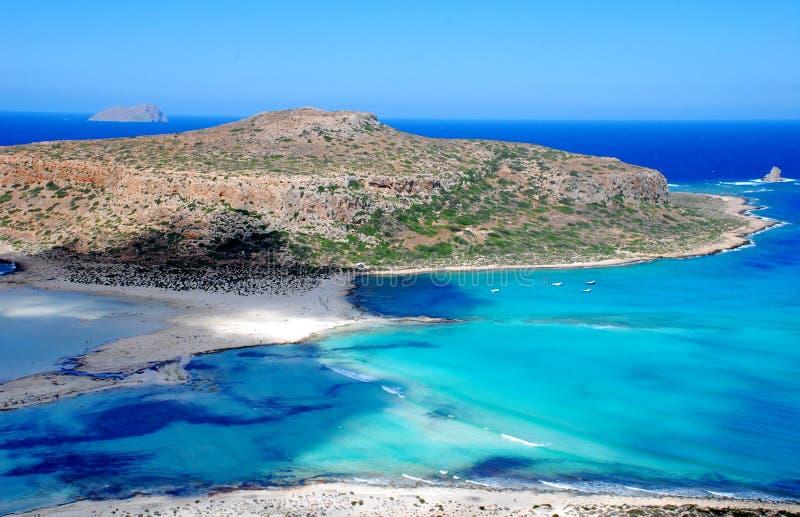 Пляж Крит Balos стоковые изображения rf
