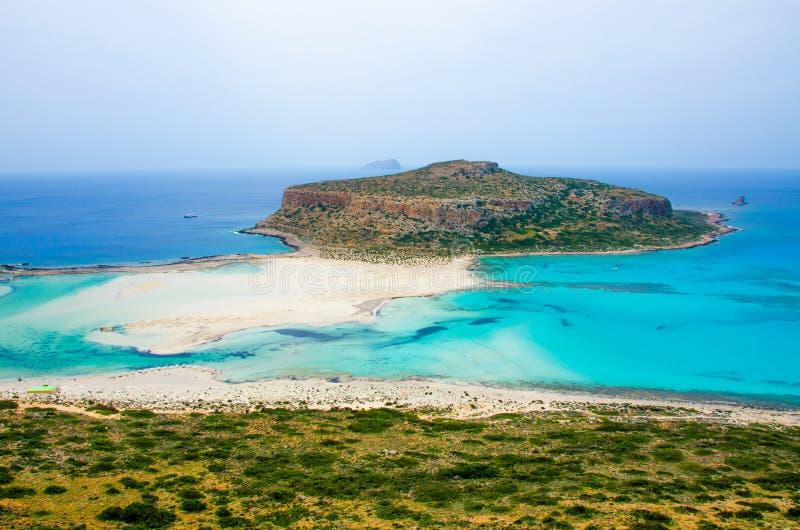Пляж Крит Balos стоковые фото