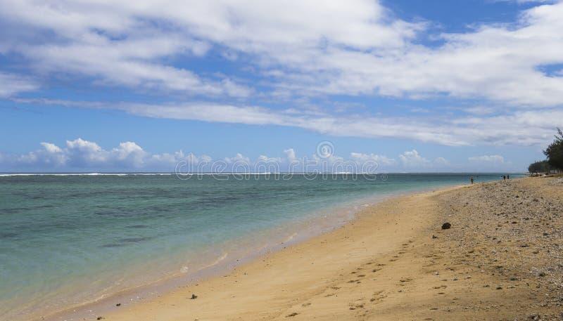 Пляж Ла соляной, Ла Остров Реюньон, Франция стоковое изображение rf