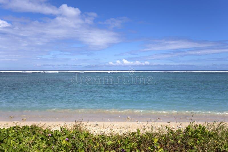 Пляж Ла соляной, Ла Остров Реюньон, Франция стоковое фото