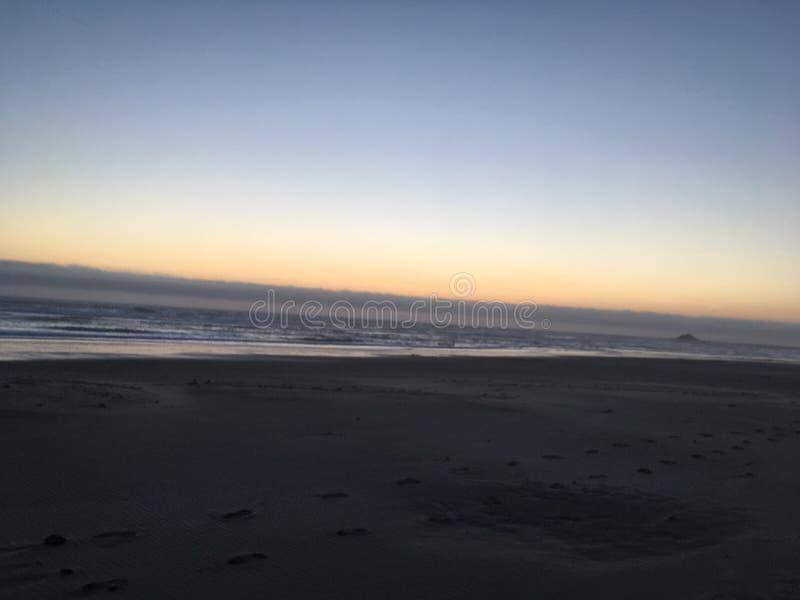 Пляж Линкольна стоковое фото