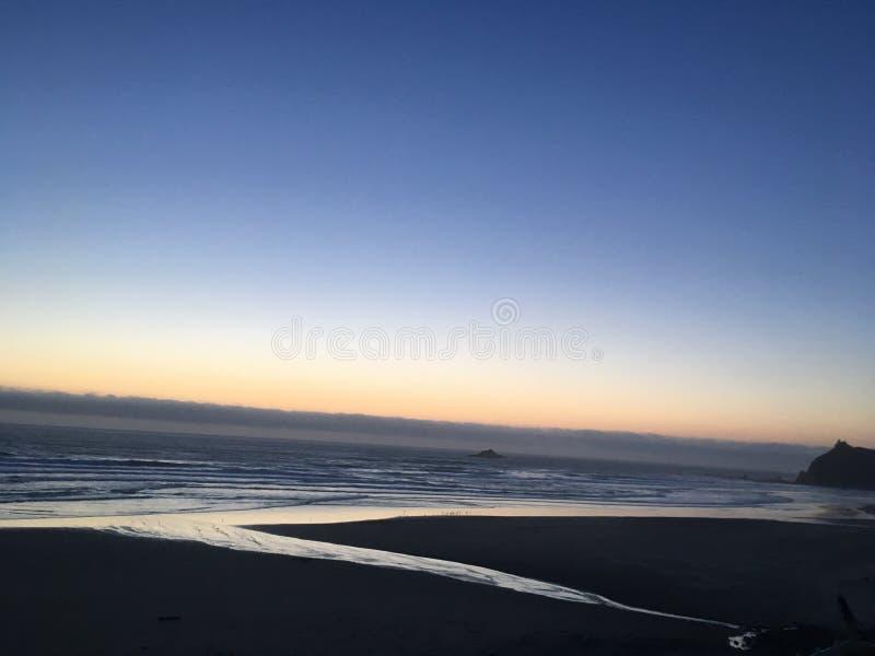 Пляж Линкольна стоковое изображение rf