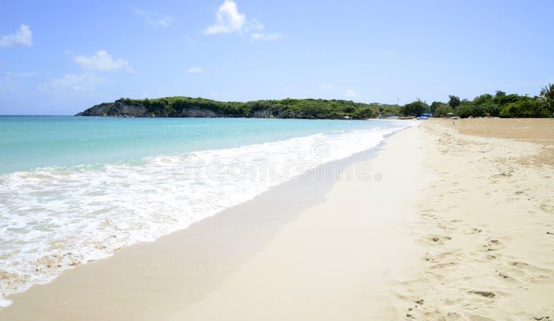 Пляж Макао в Доминиканской Республике стоковое фото rf