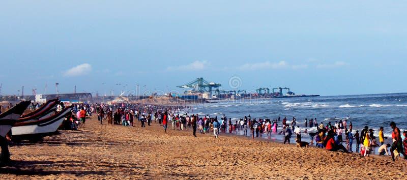 Пляж Марины стоковые фотографии rf
