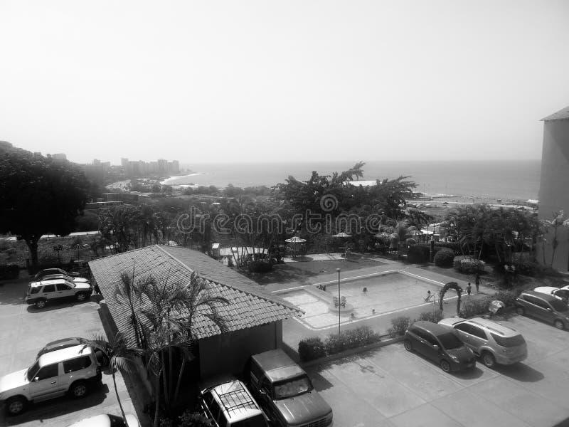 Пляж на Венесуэле стоковое изображение rf