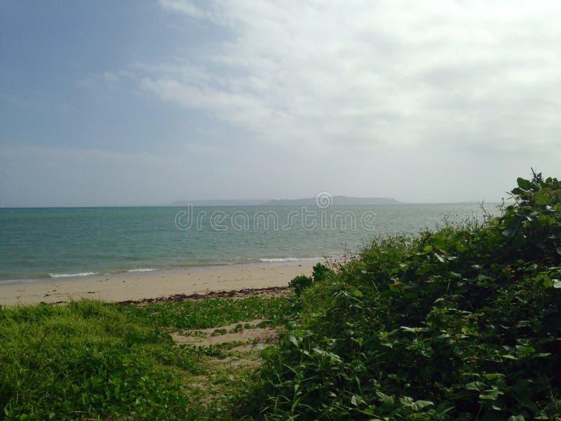 Пляж Окинавы стоковые изображения