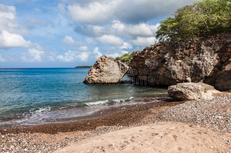 Пляж отработанных формовочных смесей стоковое изображение rf