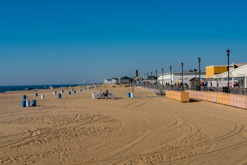 Пляж парка Asbury стоковое фото rf