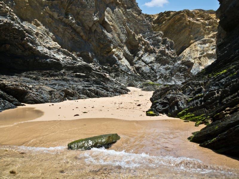 Пляж Португалии стоковые изображения