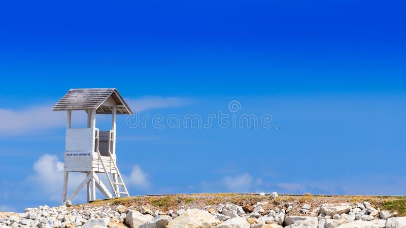 Пляж предохранителя стоковые фото