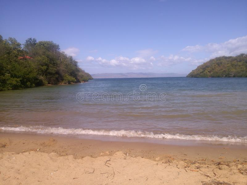 пляж приватный стоковые изображения rf