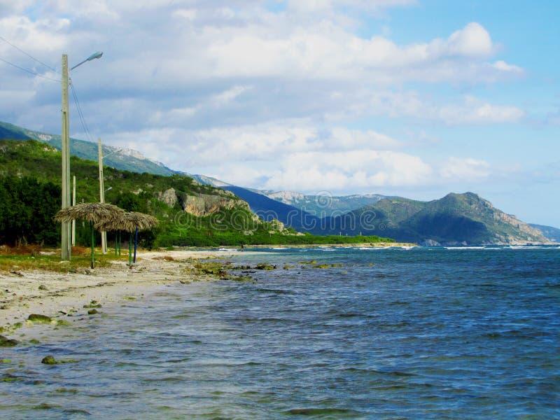 Пляж Сантьяго-де-Куба стоковая фотография rf