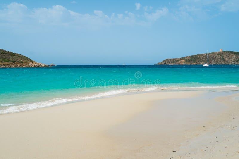 пляж Сардиния стоковое фото