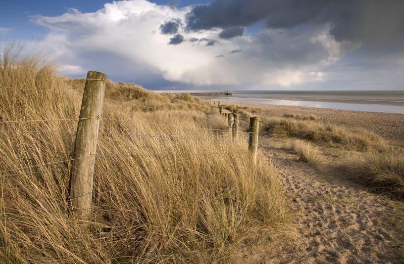 Пляж Сассекс стоковые изображения