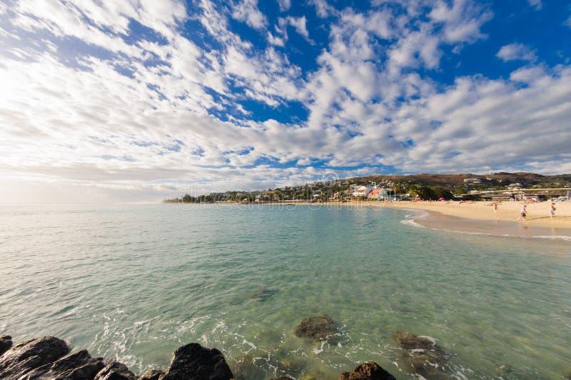 Пляж Святого Gilles на Острове Реюньон стоковые изображения
