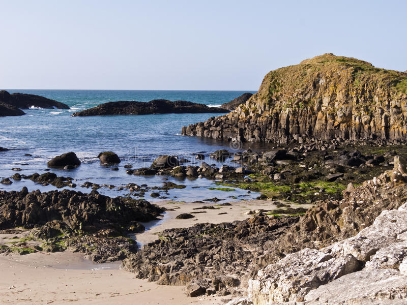 Пляж Северной Ирландии стоковые изображения