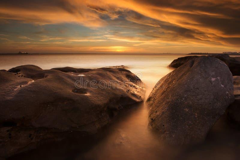 Пляж Сидней perouse Ла, Австралия стоковые изображения rf