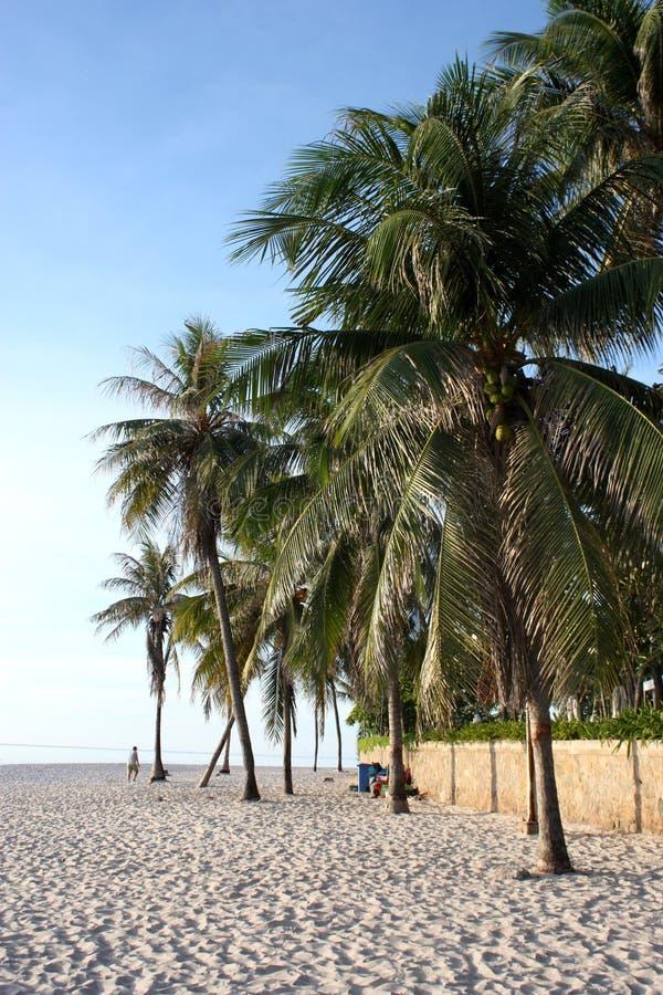 Пляж Таиланд HuaHin стоковое фото