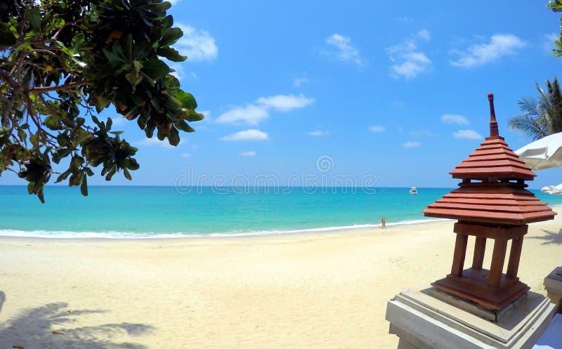Пляж Таиланд Samui Lamai Koh стоковые изображения