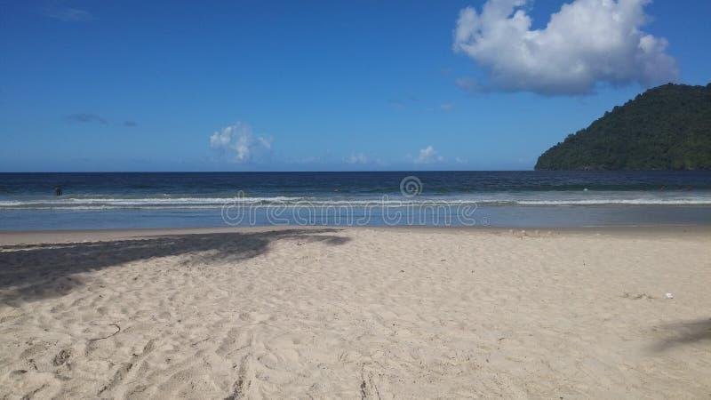 Пляж Тринидад Maracas стоковые фото