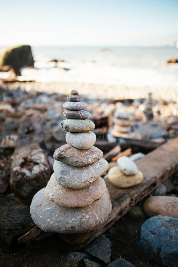Пляж утеса мили стоковые фотографии rf