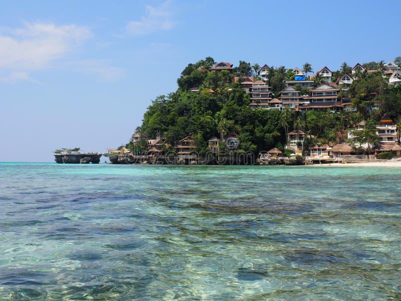 Пляж Филиппины Boracay стоковое фото rf