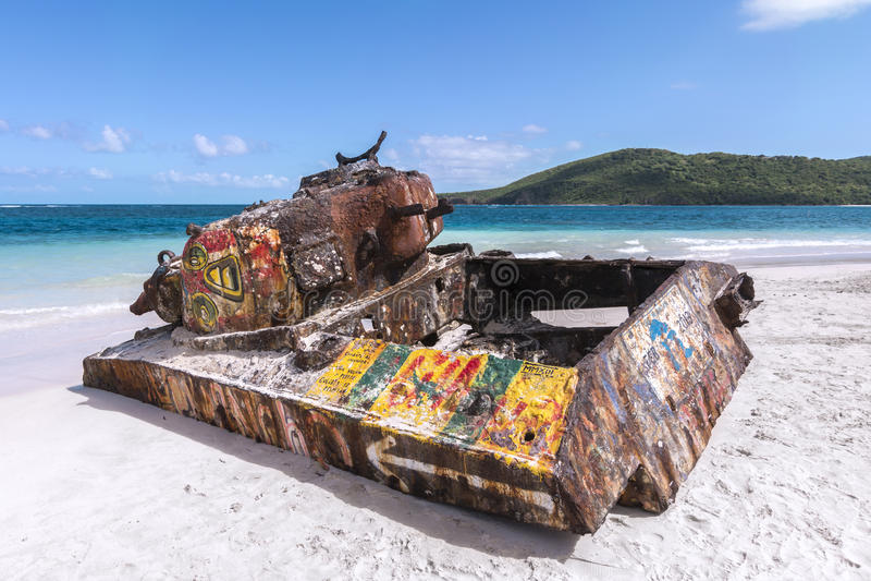 Пляж фламенко стоковая фотография