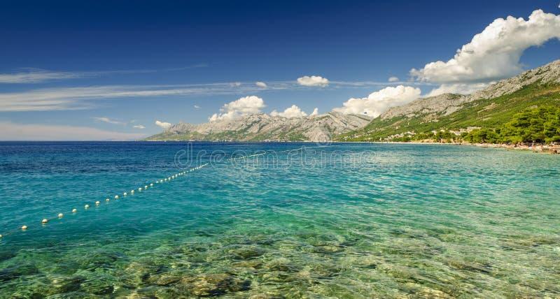 Пляж Хорватия стоковое фото