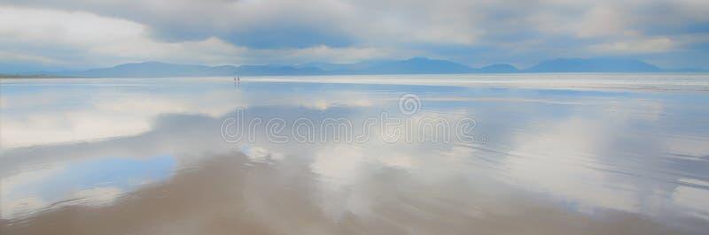 Пляж дюйма, полуостров Dingle, Co Керри Ирландии стоковое изображение rf