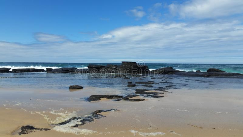 Пляж стоковое изображение